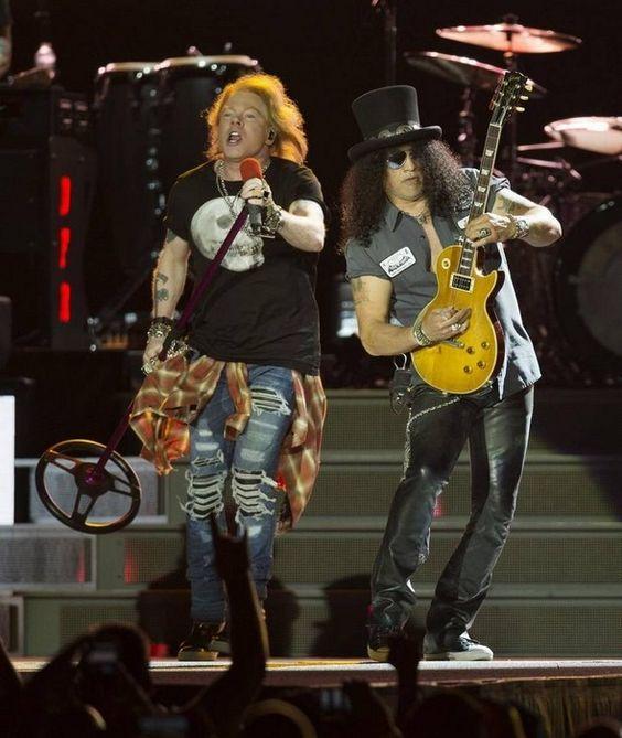 Slash with Guns N' Roses